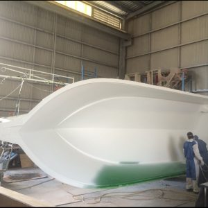 boat building oceanmax offshore centre console hull
