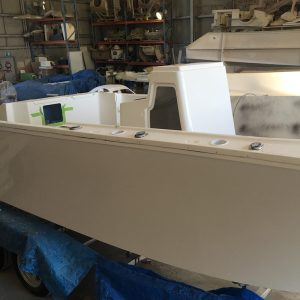 boat building oceanmax offshore centre console