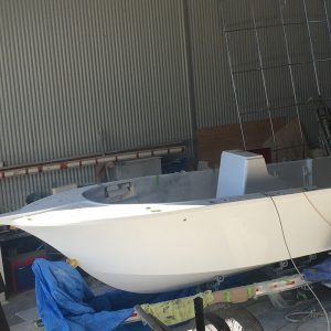 willfish boat build hull